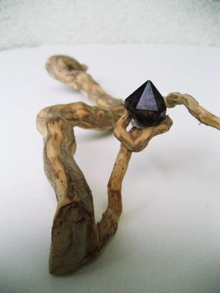 Holz mit Stein